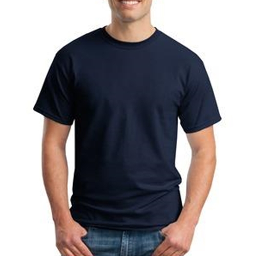 Brighton Swimming & Diving Adult Navy Cotton T Shirt
