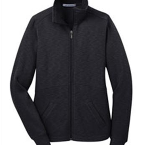 Calkins Road Middle School Ladies Slub Fleece Full Zip Jacket