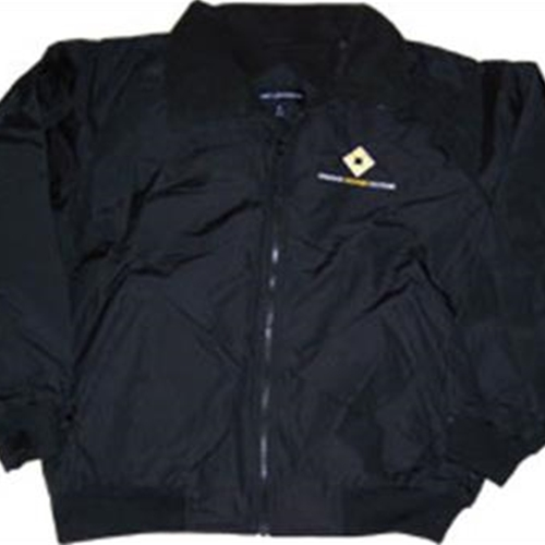 SDSRx Adult Black Nylon Jacket