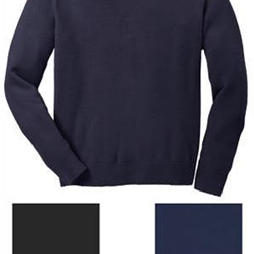 Port Authority Mens V Neck Sweater