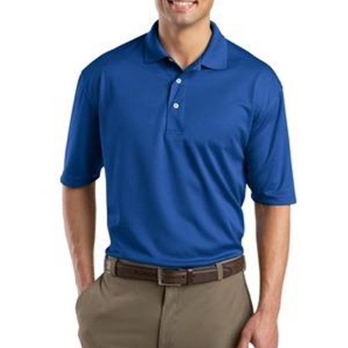 WITA Mens Royal Blue Dri Mesh Polo