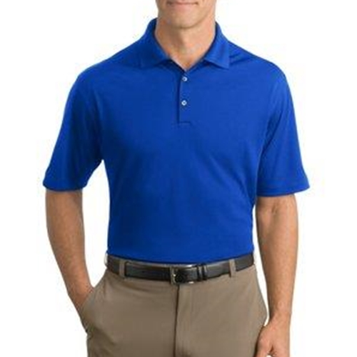 WITA Mens Nike Royal Blue Dri-Fit Micro Pique Polo
