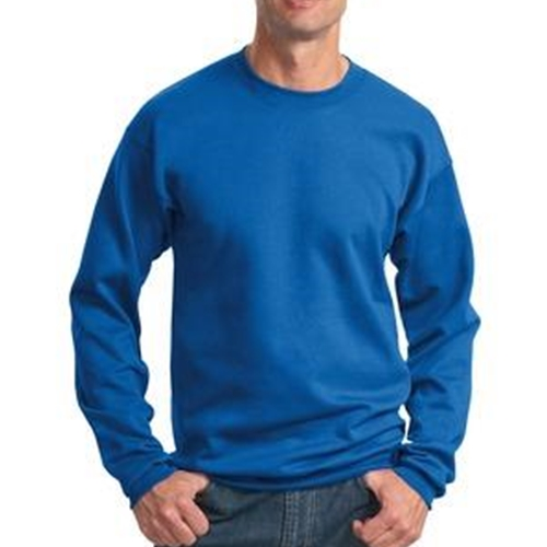 WITA Mens Royal Blue Crewneck Sweatshirt