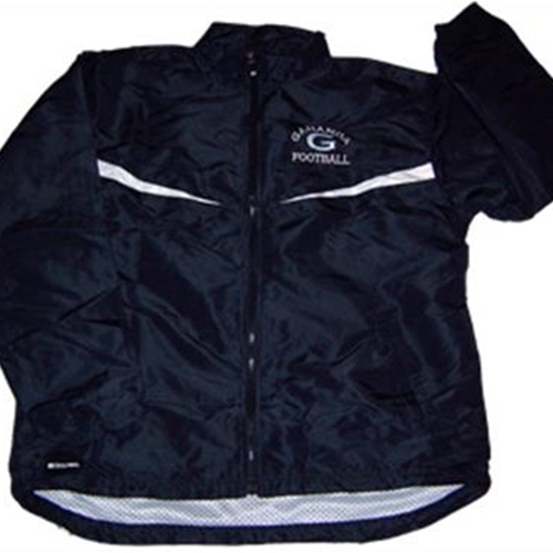 Gananda Football Adult Navy/White Achiever Jacket