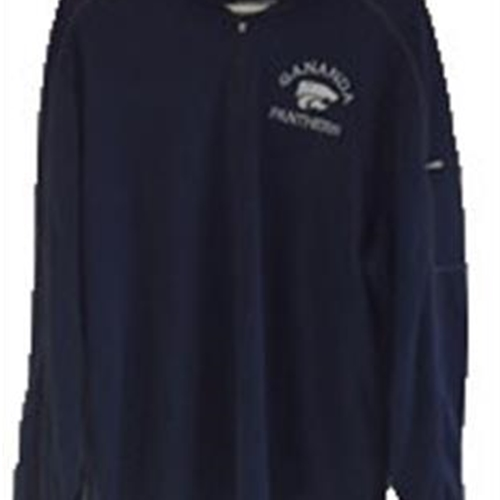 Gananda Football Adult Navy 1/4 Zip