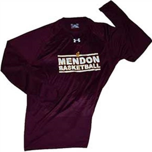 Mendon Basketball Youth Under Armour Long Sleeve Tee