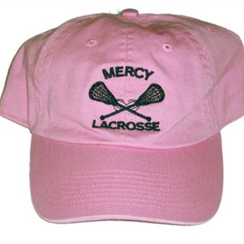 Mercy Adult Pink Baseball Hat