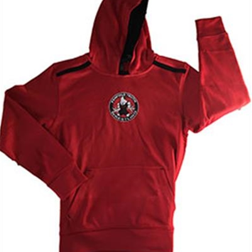 Penfield Youth Wrestling Pennant Adult Red Venom Hoodie