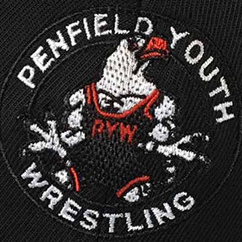 Penfield Youth Wrestling Embroidered Logo On Black Pullover
