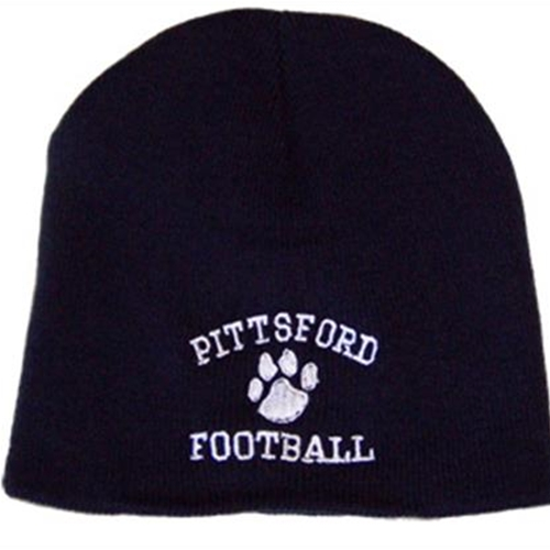 Pittsford Football Adult Navy Toque