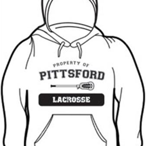 Pittsford LAX Youth Gray Hooded Sweatshirts