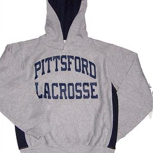 Pittsford LAX Youth Colorblock Oxford Navy Hoodie