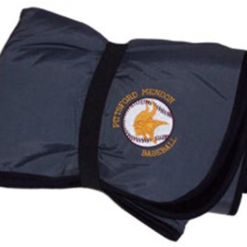 Pittsford Mendon Baseball Fleece & Nylon Blanket