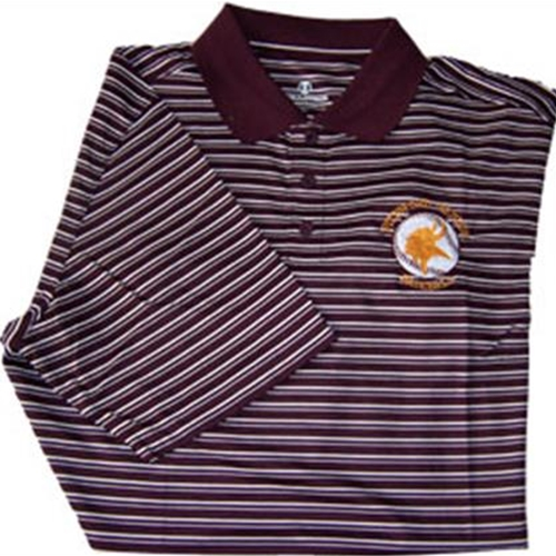 Pittsford Mendon Baseball Mens Maroon White Holloway Helix Dry Excel Polo