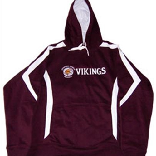 Pittsford Mendon Baseball Adult Maroon/White Hoodie