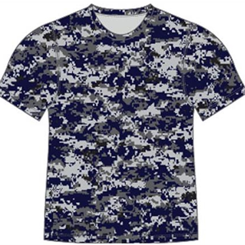Pittsford Panthers Baseball Youth Navy Camo Tee