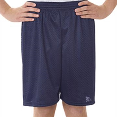 Pittsford Panthers Baseball Youth Mesh Shorts Navy