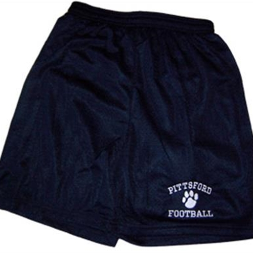 Pittsford Panthers Football Youth Navy Mesh Shorts
