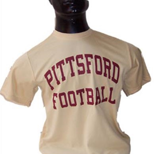Pittsford Panthers Football Youth Vegas Gold Dry Core Tee