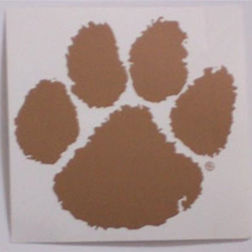 Pittsford Panthers Football Panthers Paw Decal
