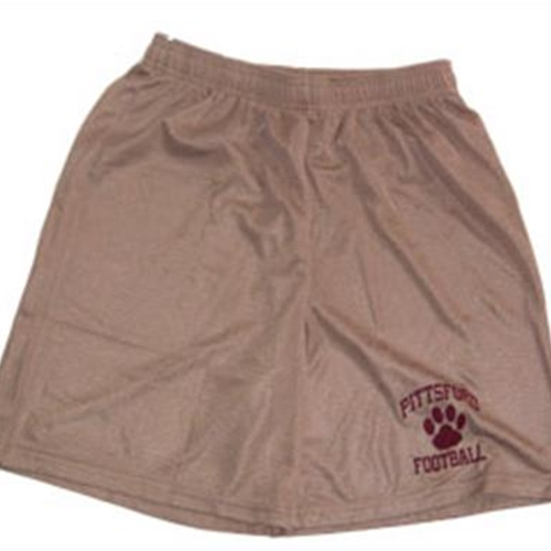 Pittsford Panthers Football Youth Vegas Gold Mesh Shorts