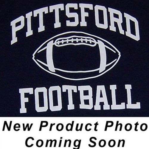 Pittsford Panthers Football Adult Navy and White Hooded Sweatshirt