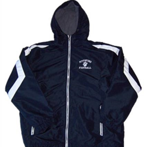 Pittsford Panthers Football Adult Navy White Charger Jacket