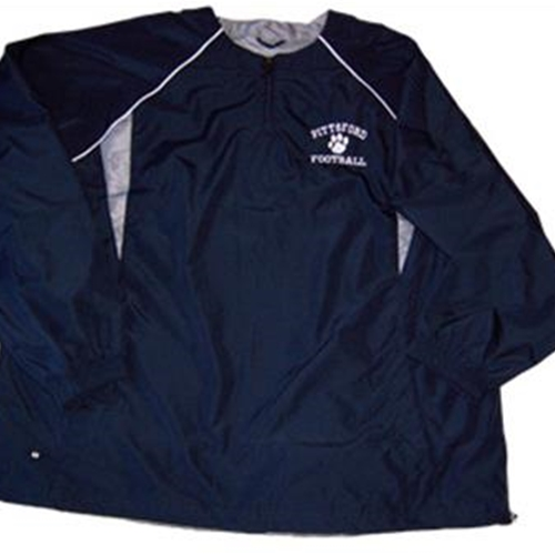 Pittsford Panthers Football Adult Navy Destroyer Pullover