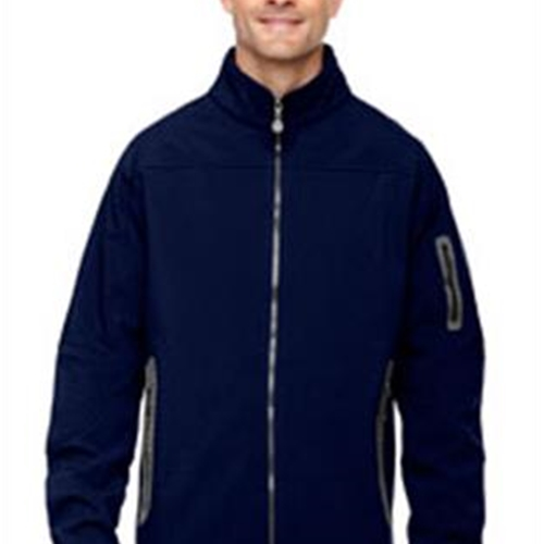 Pittsford Sutherland Baseball Men's Navy 3-Layer Soft Shell Jacket