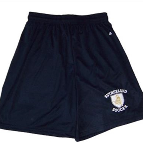 "Pittsford Sutherland Soccer Adult B-Core Navy 7"" Shorts"
