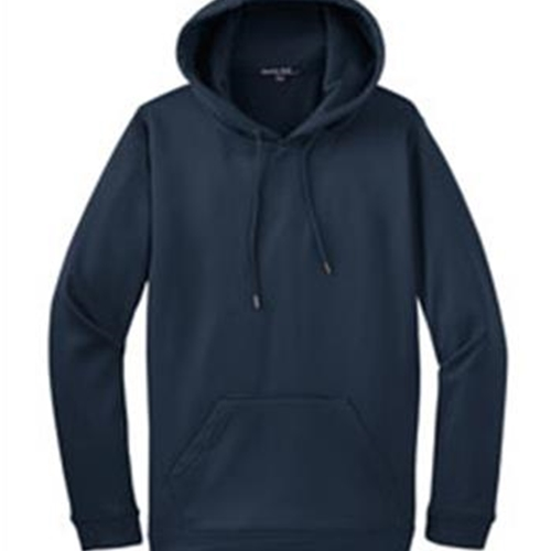 Pittsford Wrestling Adult Sport-Tek Navy Blue Fleece Hooded Pullover
