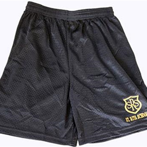 St. Rita School GYM Youth Shorts Black