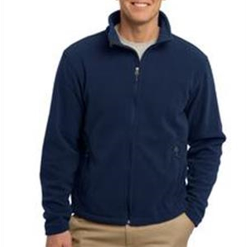 St. Rita School Adult Mens Navy Full Zip Fleece