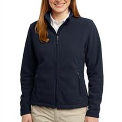 St. Rita School Adult Ladies Navy Full Zip Fleece