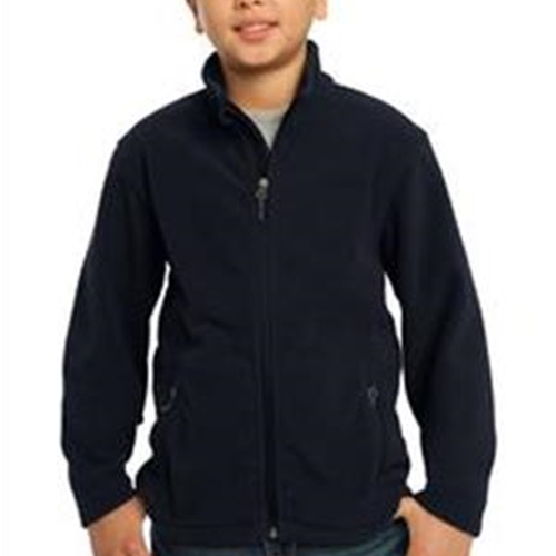 St. Rita School Youth Navy Full Zip Fleece