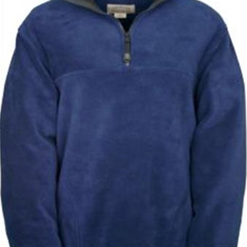 St. Rita School Adult Navy 1/4 Zip Fleece