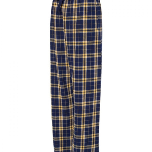 St. Rita School Youth Navy Gold Flannel Pants