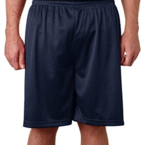 St. Rita School Adult Navy Mesh Shorts
