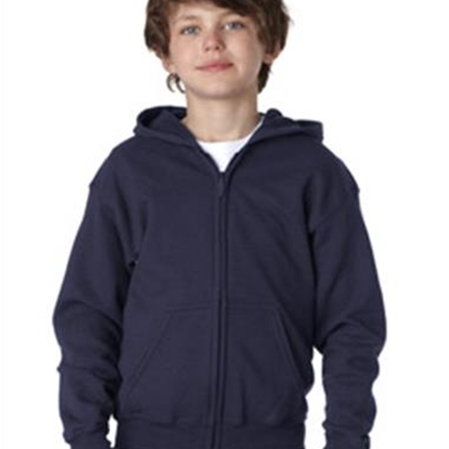 St. Rita School Youth Ash or Navy Full Zip Hoody