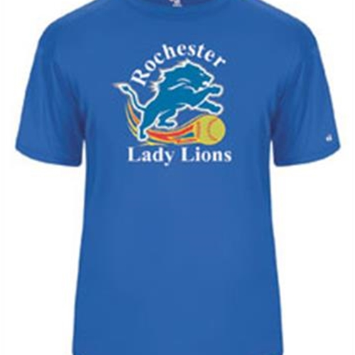 Rochester Lady Lions Adult S/S Performance Tee