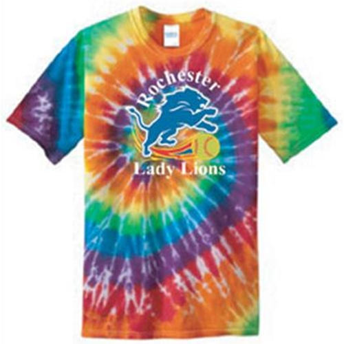 Rochester Lady Lions Adult Tie Dye Tee