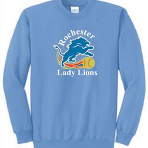 Rochester Lady Lions Adult Crewneck Sweatshirt