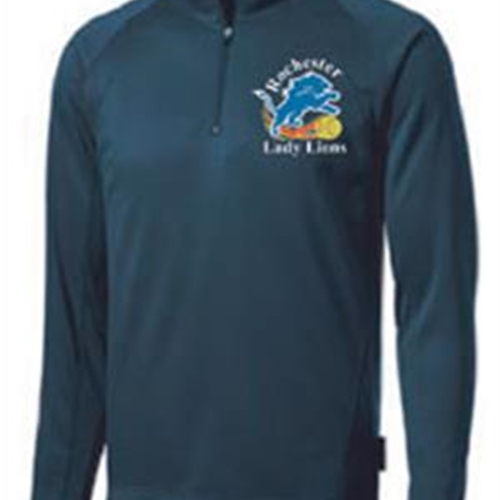Rochester Lady Lions Adult 1/4 Zip Pullover