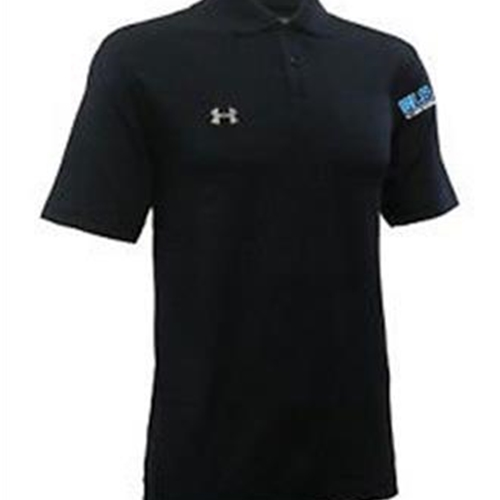 St. Louis School Mens Under Armour Navy Team Polo