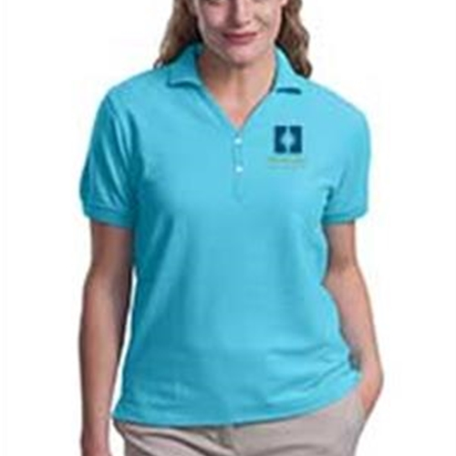 Heritage Christian Services Ladies Short Sleeve Polo