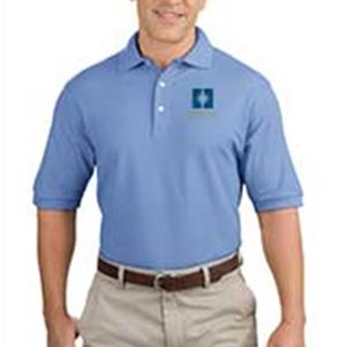 Heritage Christian Services Mens Short Sleeve Polo