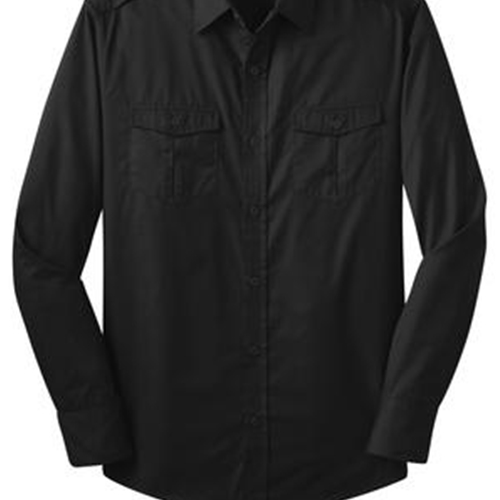 Villa of Hope Adult Port Authority Stain-Resistant Roll Sleeve Twill Shirt