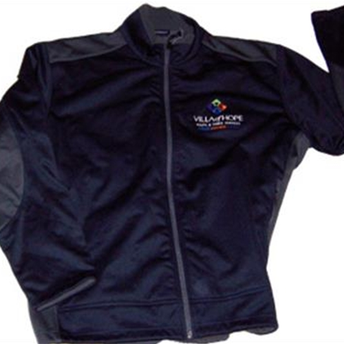 Villa of Hope Mens Port Authority Black/Graphite Two Tone Soft Shell Jacket