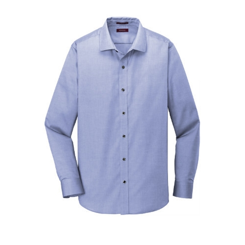 Villa of Hope Mens Slim Fit Non Iron Pinpoint Oxford