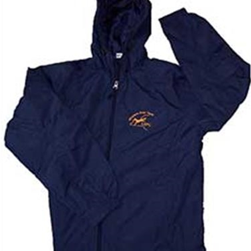 WNYUSPC Adult Navy Hooded Raglan Jacket